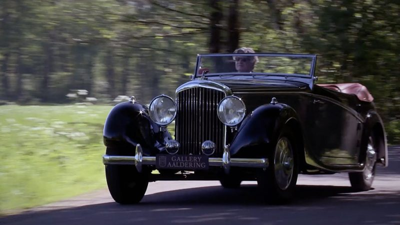 Nico's Klassieker: Bentley 4 1/4 litre Drophead Coupé (1936)