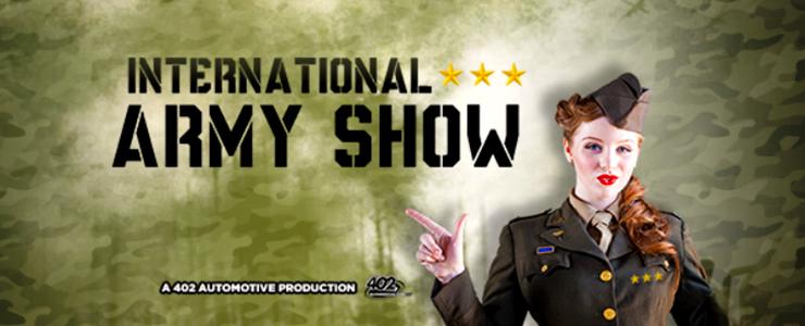 International Army Show – 1 + 2 september