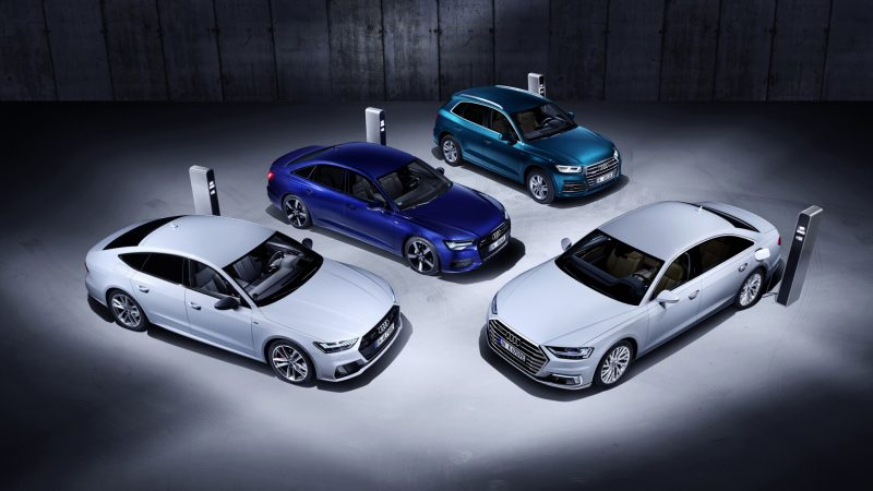 Audi introduceert plug-in hybridetechnologie voor Q5, A6, A7 en A8