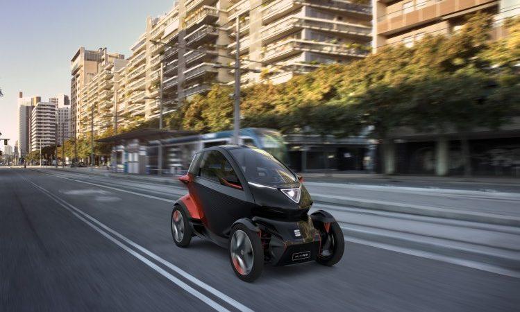 SEAT Minimó: visie op de toekomst van stadse mobiliteit