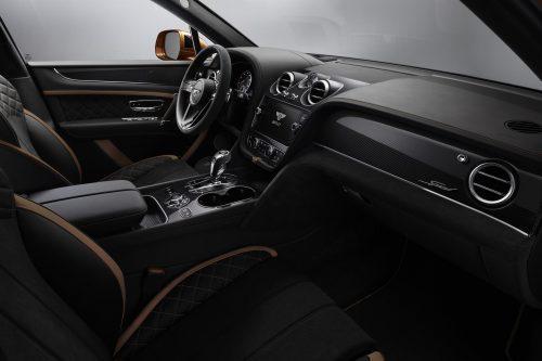 Bentayga Speed interior