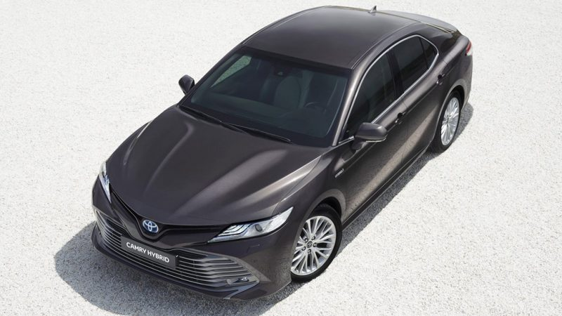 Nieuwe Toyota Camry: vanaf 39.995 euro