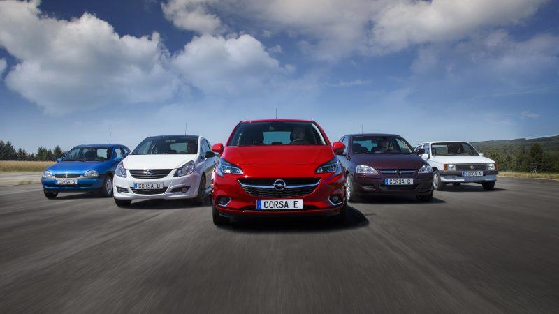 Nieuwe Opel Corsa weegt minder dan duizend kilo