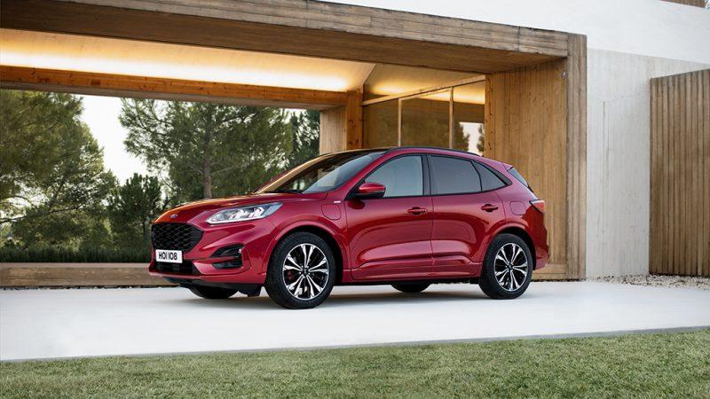 Ford onthult volledig nieuwe Kuga, met keuze uit drie hybride aandrijflijnen