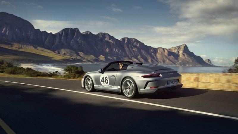 Terug naar de roots: 911 Speedster met Heritage Design Pakket