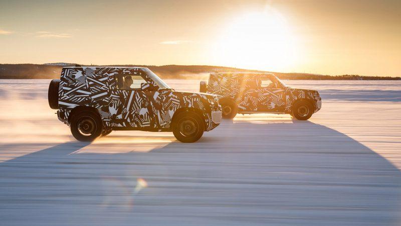 Nieuwe Land Rover Defender passeert 1,2 miljoen testkilometers