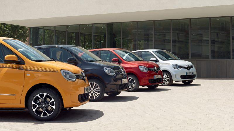 Prijzen nieuwe Renault Twingo