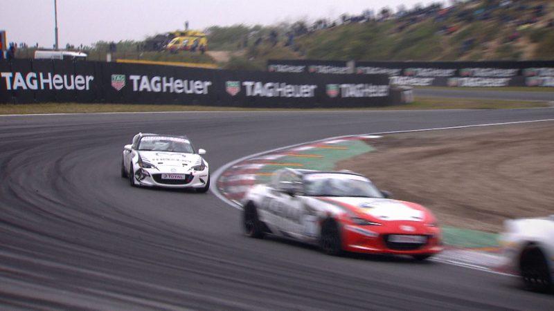 Mazda MX-5 Cup op Circuit Zandvoort