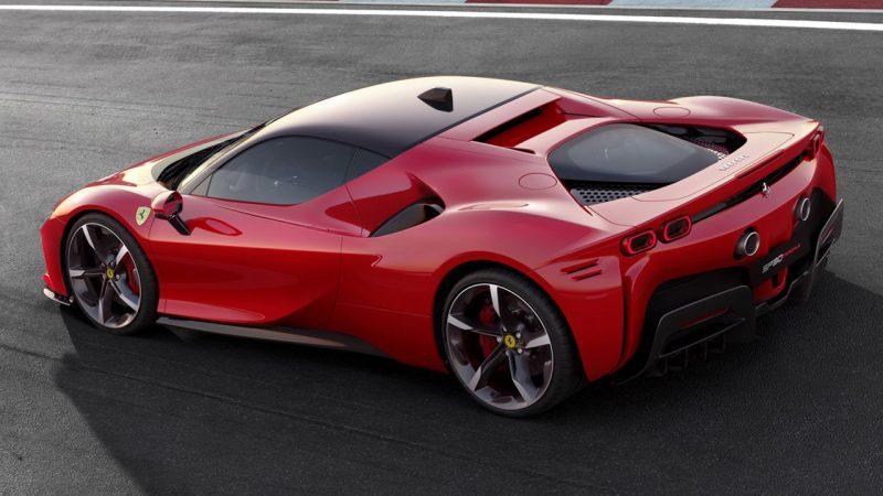 Plug-in hybride supersportwagen: Ferrari SF90 Stradale