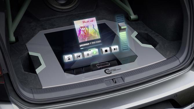 Wereldprimeur van Volkswagen: holografische bediening
