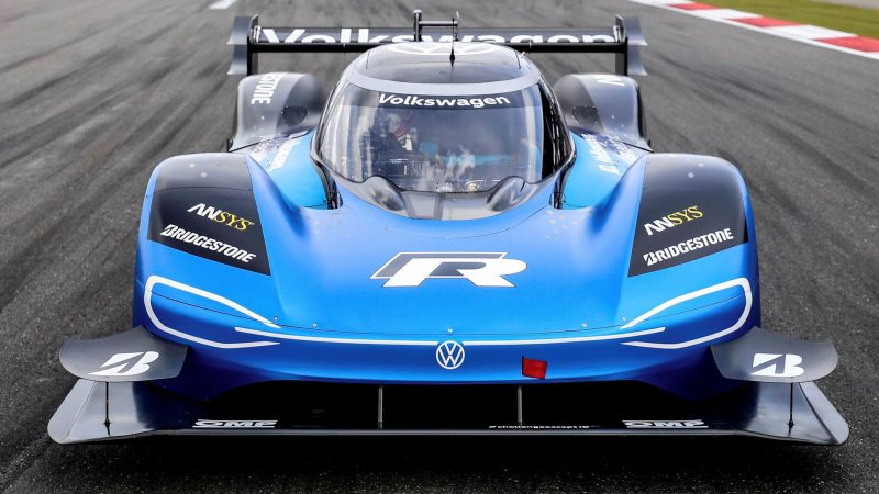 Volkswagen ID.R gaat voor verbreken Formule 1-record