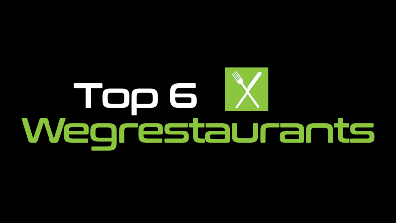Top 6 wegrestaurants in Nederland