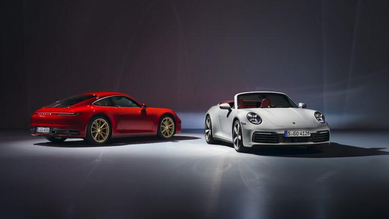 """Porsche introduceert nieuwe """"instap""""-911 Carrera Coupé en Cabriolet"""
