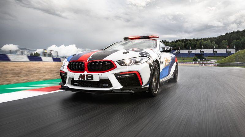 High performance in dienst van veiligheid: de nieuwe BMW M8 MotoGP™ Safety Car