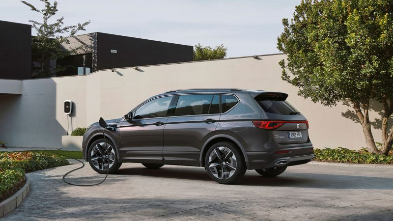 Tarraco FR PHEV: plug-in hybride SUV met sportieve aspiraties