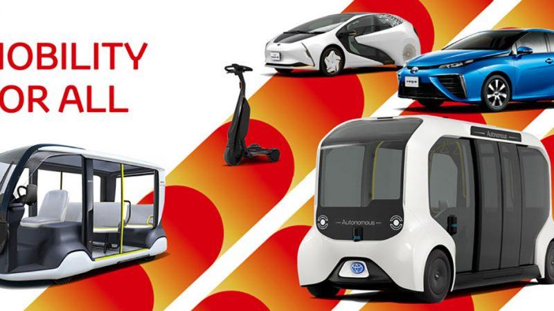 Toyota verzorgt mobiliteit voor Tokyo 2020, inclusief een reeks elektrische voertuigen