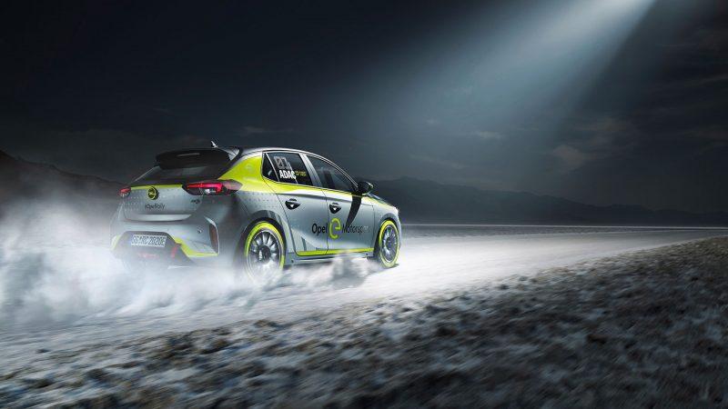 Wereldpremière IAA 2019: Opel eerste autofabrikant met elektrische rallyauto