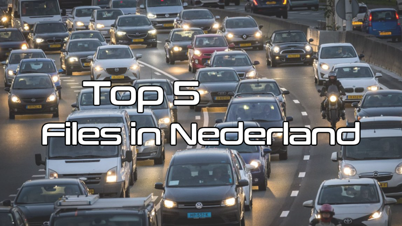 Top 5 Files in Nederland