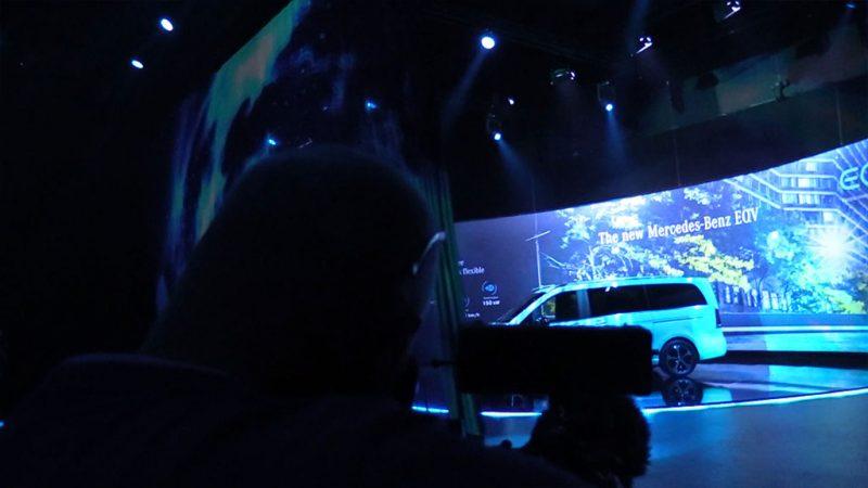 Allard ontmoet een nieuwe, elektrische Mercedes-Benz