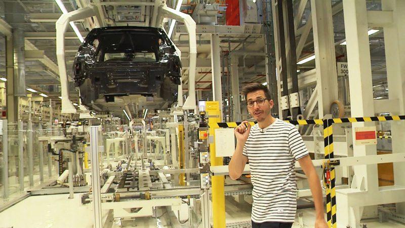 Andreas bezoekt de Volkswagen ID-fabriek