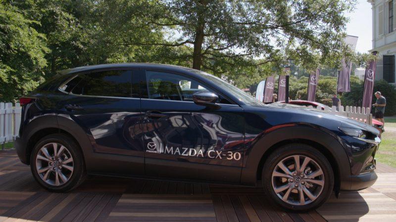 Mazda op het Concours d'Élégance Paleis Soestdijk