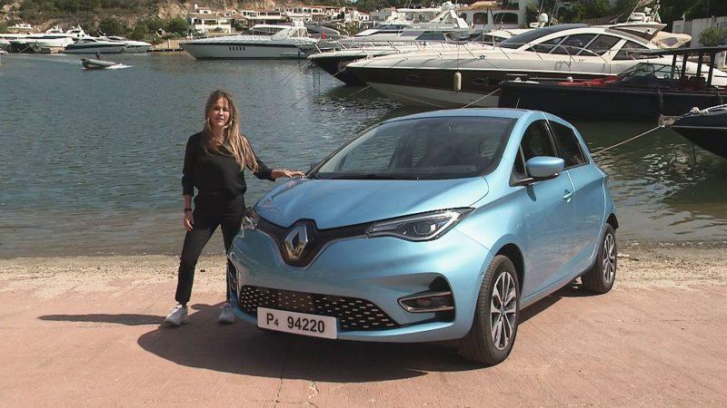 Stéphane rijdt de nieuwe elektrische Renault ZOE