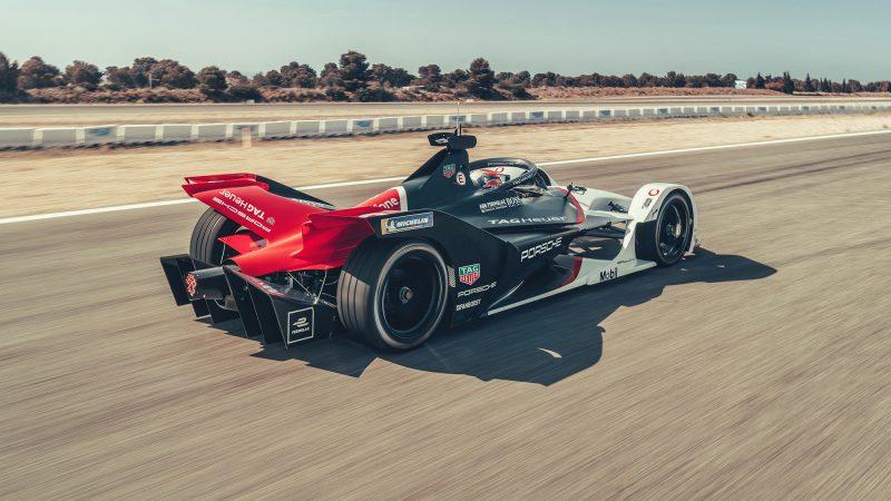 Porsche onthult 99X Electric Formule E-auto
