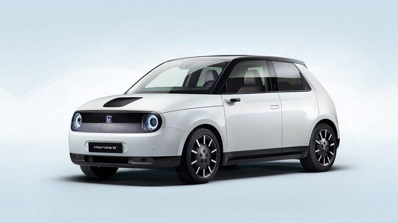 Honda kondigt productieversie Honda e aan, debuut in Frankfurt