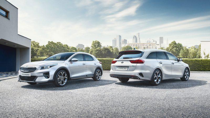Kia onthult efficiënte Plug-in Hybrid-varianten van de  XCeed en Ceed Sportswagon