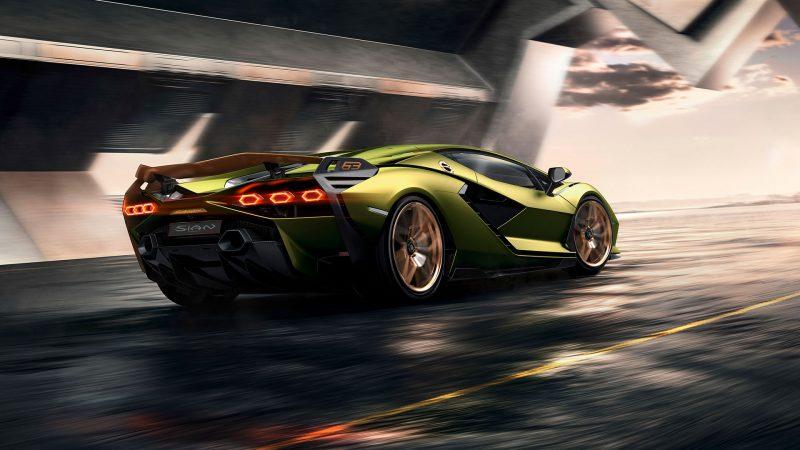De Lamborghini Sián: gelimiteerde hybride supersportwagen laat de toekomst van het merk zien