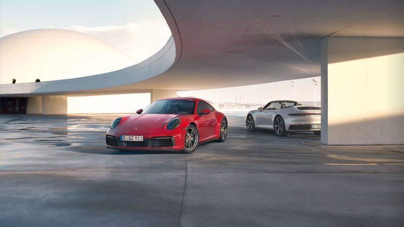 385 pk sterke Porsche 911 Carrera-modellen nu ook met vierwielaandrijving