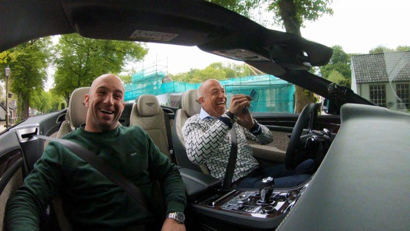 Cruisen in de Bentley Continental GT Convertible