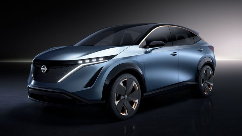 Nissan onthult Ariya Concept op Tokyo Motor Show 2019