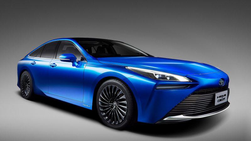 Toyota met tweede generatie Fuel Cell Mirai Concept op  Tokyo Motor Show 2019