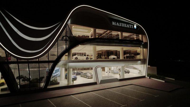 Maserati opent grootste showroom wereldwijd in Dubai