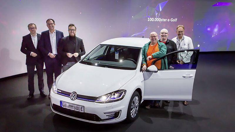 Volkswagen levert 100.000ste e-Golf