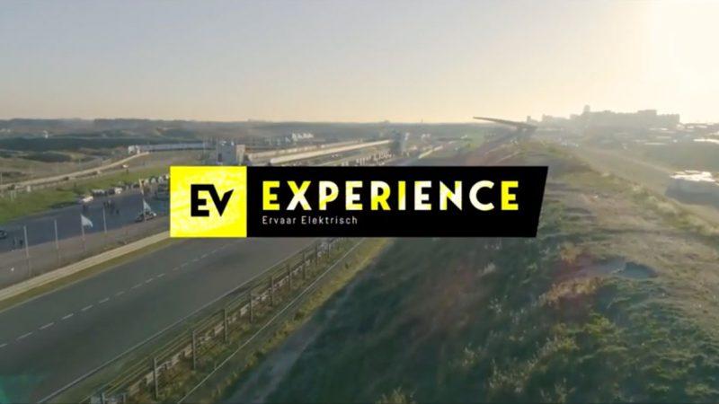 Circuit Zandvoort decor voor elektrisch proefrijden