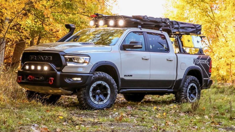 Mopar debuteert twee Customized Concept Trucks op SEMA Show