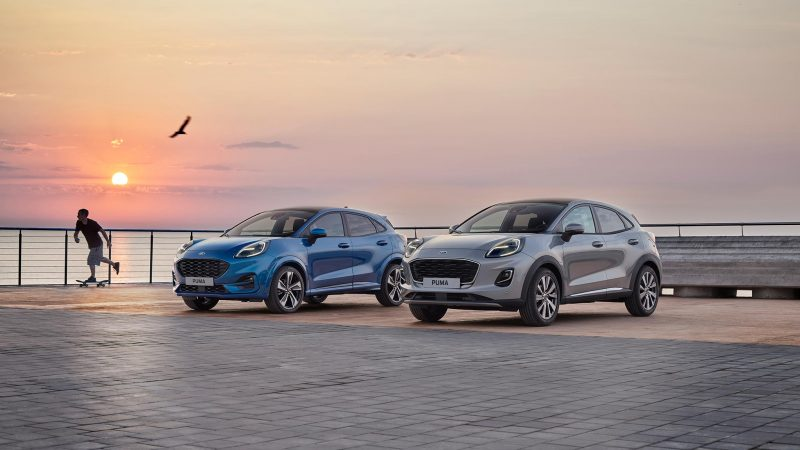 Nieuwe Puma is één van de Fords die 5 Euro NCAP sterren voor veiligheid scoort