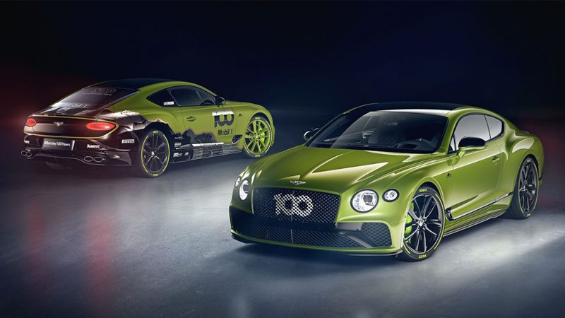 Bentley viert Pikes Peak-record met Limited Edition van Continental GT