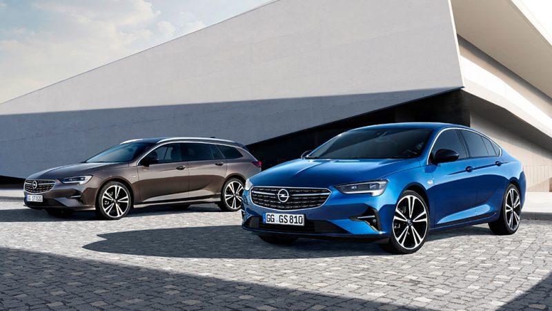 Nieuwe Opel Insignia eerste met IntelliLux LED® Pixel Light