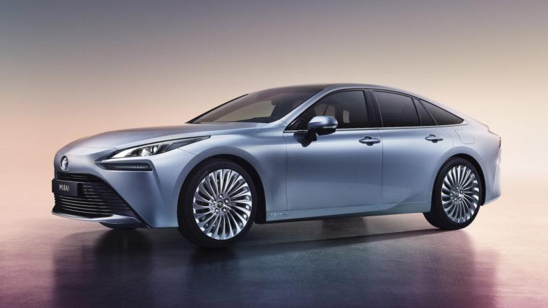 Tweede generatie Toyota Mirai zet volgende stap in mobiliteit op  waterstof