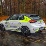 s' Werelds eerste elektrische rallycompetitie gaat tweede fase in
