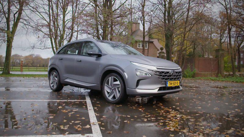 De waterstofaangedreven Hyundai NEXO