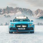 Bentley met Continental goed beslagen ten ijs tijdens GP Ice Race