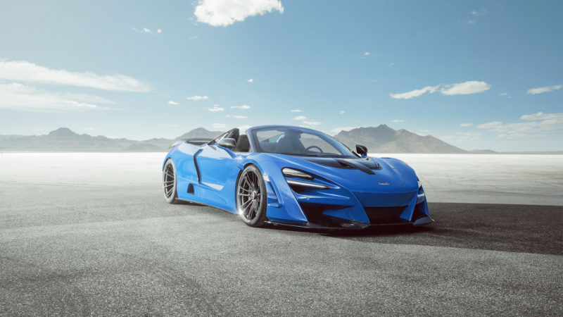 NOVITEC creëert super roadster op basis van de McLaren 720S Spider