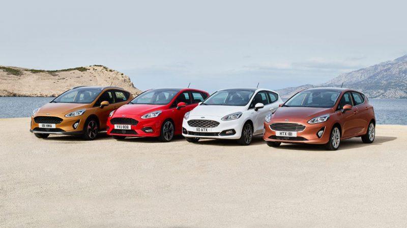 Vernieuwde motor en meer luxe voor de Ford Fiesta