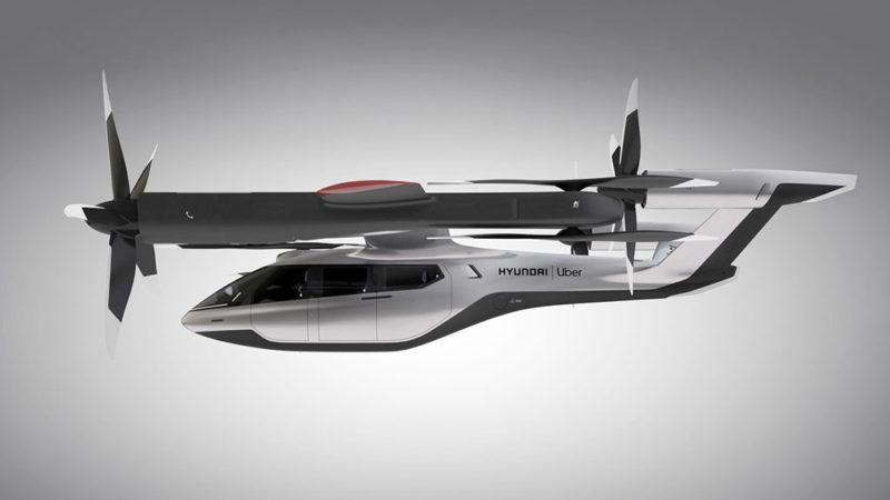 Hyundai presenteert vliegende auto op technologiebeurs CES 2020