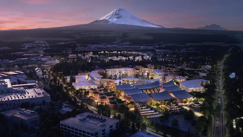 Toyota ontwikkelt stad van de toekomst