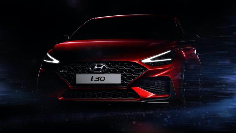 Hyundai toont krachtig design vernieuwde i30.